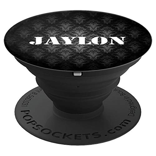 Jaylon Personalized Custom Name PopSocket-Men Boys - PopSockets Grip and Stand for Phones and Tablets