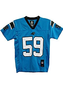 Luke Kuechly Carolina Panthers #59 Blue Toddler Mid Tier Alternate Jersey