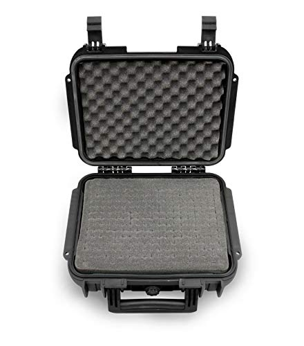 CASEMATIX Hard Shell USB Microphone Case Compatible With Blu