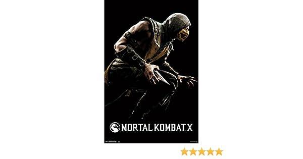The Poster Corp Mortal Kombat X - Scorpion Artistica di Stampa (86 ...