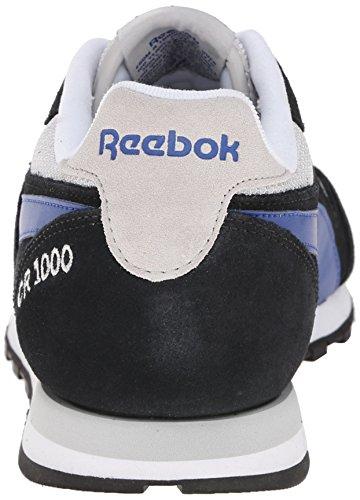 Reebok Heren Cr 1000 Txt Klassieke Hardloopschoen Zwart / Staal / Team Dark Royal / Wit