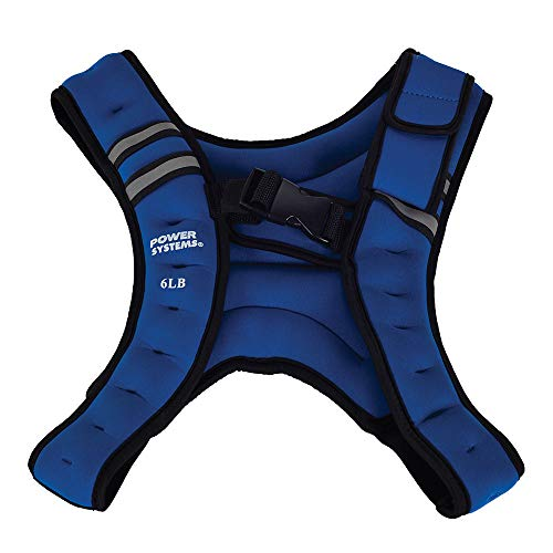 Power Systems Infinity Weight Vest, 6 Pounds, Blue (13242)