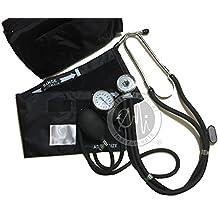 EMI 330 Sprague Rappaport Stethoscope and Aneroid Sphygmomanometer Manual Blood Pressure Set Kit