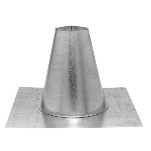 Tall Cone Flat Roof - 6