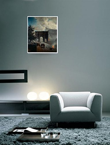 Amazoncom Wall Art Print Entitled Before The Colosseum Also Known