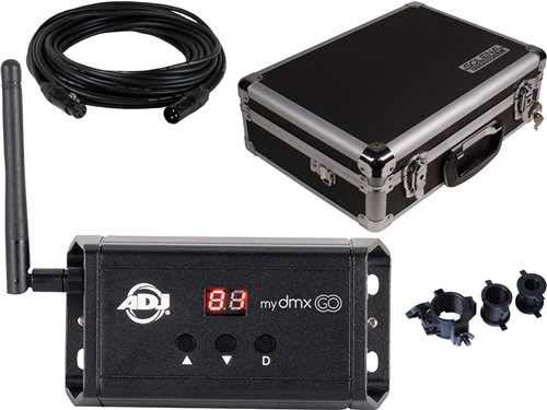 ADJ American DJ myDMX Go Wireless DMX Interface w//Case /& Accessories