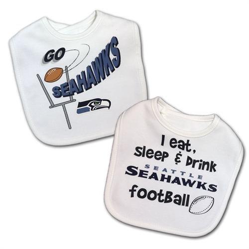 Gerber Seahawks Baby Bibs