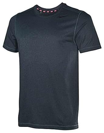 Nike Men's Dri-Fit Sphere Training Shirt-Mignight Teal Heather-Small