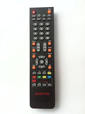Sceptre DVD TV Combo Remote control