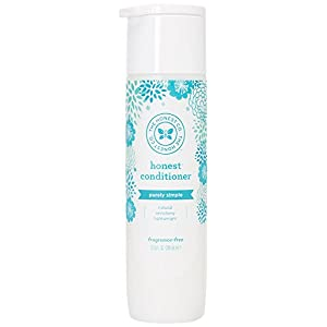 Honest Purely Simple Hypoallergenic Conditioner for Sensitive Skin, Fragrance Free, 10 Fluid Ounce