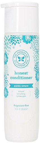 Honest Purely Simple Hypoallergenic Conditioner for Sensitive Skin, Fragrance Free, 10 Fl. Oz (Pack of 1)