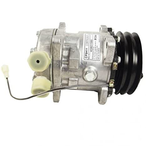 Air Conditioning Compressor - Sanden Style w/Clutch New Holland TN80F TN75F TN65D TN65F TN75S