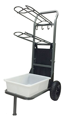 Rolling Saddle Cart - High Country Plastics Two Wheel Saddle Rack Cart