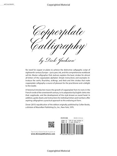 copperplate calligraphy dover books on lettering calligraphy and