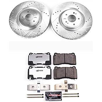 Power Stop K7053 Z23 Evolution Sport Performance 1-Click Brake Kit