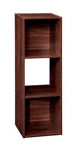 ClosetMaid (1028) Cubeicals Organizer, 3-Cube – Dark Cherry