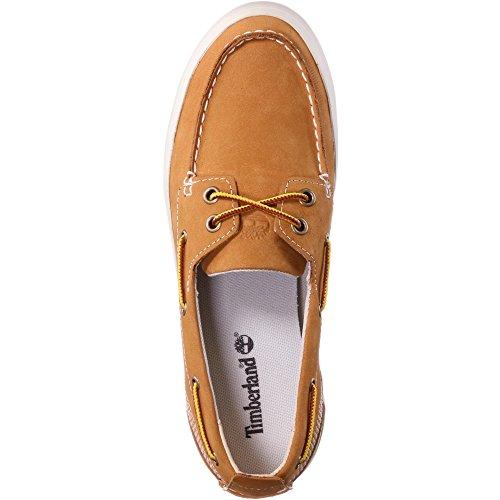 56wRn Timberland Chaussures Brattleboro Voile Femme de Jaune WxBordCe