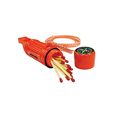Ultimate Survival Technologies 5-in-1 Survival Tool-Orange-4 Count by Ultimate Survival Technologies
