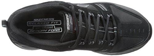 Skechers Sport Hommes Double Baskets Noir