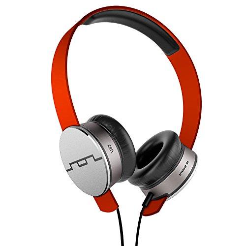 SOL REPUBLIC Tracks HD On-Ear Headphones - Fluoro Red (1241-23)