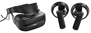 Lenovo Explorer Bundle, Wireless Headset and Motion Controllers for Windows Mixed Reality, Iron Grey, G0A20002WW