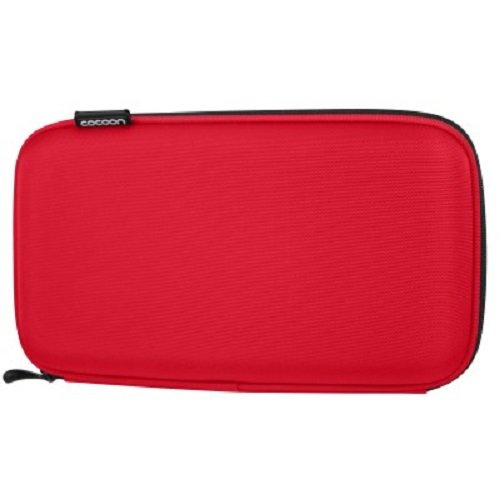 Cocoon CPS250RD EVA Gadget Case includes GRID-IT!® Accessory Organizer (Racing Red) (Blackberry Vinyl Pocket)