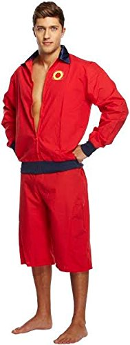 CESTRIAN Mens Baywatch Style Beach Patrol Life Guard Costume Fancy Hoff Halloween Outfit  sc 1 st  Amazon UK & CESTRIAN Mens Baywatch Style Beach Patrol Life Guard Costume Fancy ...