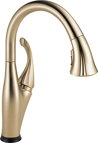 9192T CZ DST Single Handle Pull Down Technology Champagne
