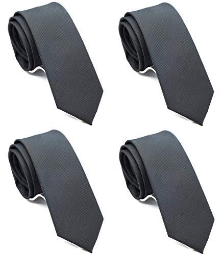 (Skinny Neckties Solid Matte Color Slim Neck Tie 2(1/2)