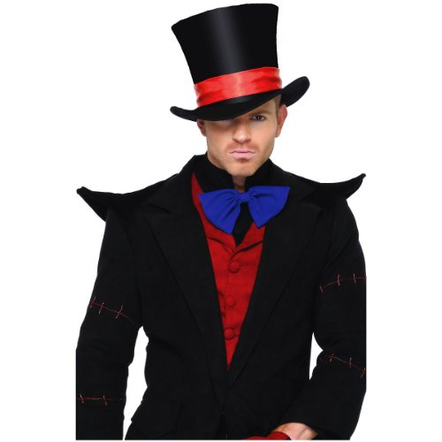 Deluxe Velvet Top Hat Costume Accessory