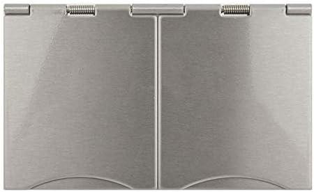 Schneider Flat Plate Gu3252wss Twin Floor Socket 13a