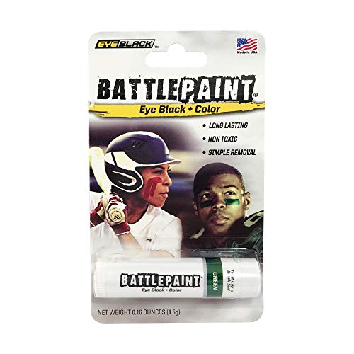 EyeBlack Green BattlePaint Eye Black Grease