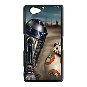 Sony Xperia Z2 Compact / Z2 Mini Case Cover Shell Magic Retro Style Fantasy Movie Star Wars Resistance Robot BB-8 Phone Case Cover New Arrival
