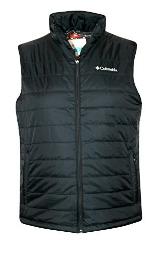 (Columbia Crested Butte II OMNI HEAT Mens Vest, BLACK (M))