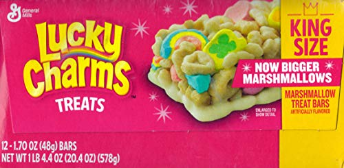 Lucky Charms Cereal Treat Bars, 1.7 oz., 12 Pack/Box