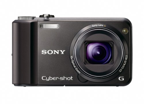 Cyber Shot Still Camera - Sony Cyber-Shot DSC-H70 16.1 MP Digital Still Camera with 10x Wide-Angle Optical Zoom G Lens and 3.0-inch LCD (Black)