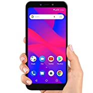 "BLU Advance A6 2018-6.0"" HD+ 18:9 Smartphone with Dual Cameras -Black"