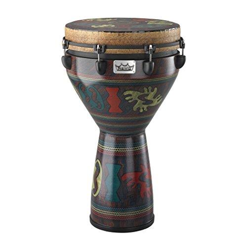 Remo Djembe Key Tune Adinka Finish 14 Inch (Best Drummer In Ghana)