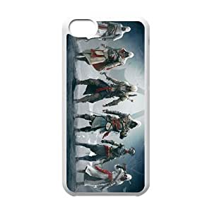 iphone5c phone cases White Assassins Creed cell phone cases Beautiful gifts PYSY9381086