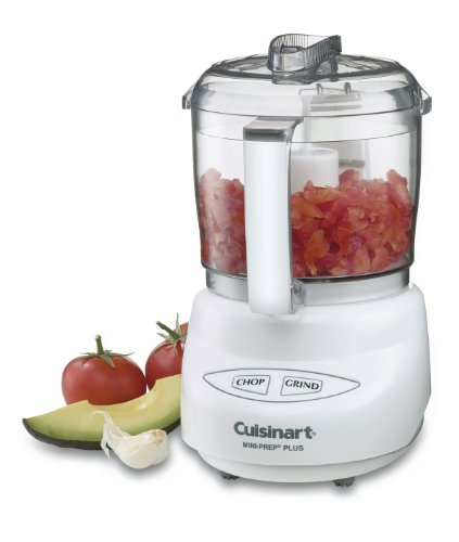 Cuisinart DLC-2A Mini-Prep Plus Food Processor (White)