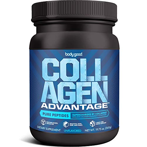 Collagen Advantage™ Pure Peptides Powder (19.75 oz). Maximize Benefits with Collapro™, Our Exclusive Blend of Key Minerals. Pasture-Raised, Grass-Fed, Paleo + Keto Friendly, Dairy-Free, Gluten-Fre