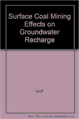 Downloadning af bøger på gratis iPad Surface Coal Mining Effects on Ground Water Recharge 0309042372 PDF CHM ePub