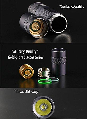 Super Bright 1600 Lumen LED Torch Flash Light,Tactical Flashlight Rechargeable,Linterna 18650 Flashlight (Black Set) by WISSBLUE (Image #3)