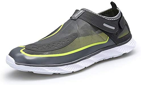 HYH (グリーン)滑り止め滑り止めウォーターシューズアウトドアスポーツビーチ朔溪の靴新しい いい人生 (色 : Green, Size : US9)