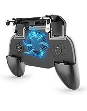 Gamepad Joystick com Cooler SR 2000mAh CARREGA o celular enquanto joga PUBG FREE FIRE