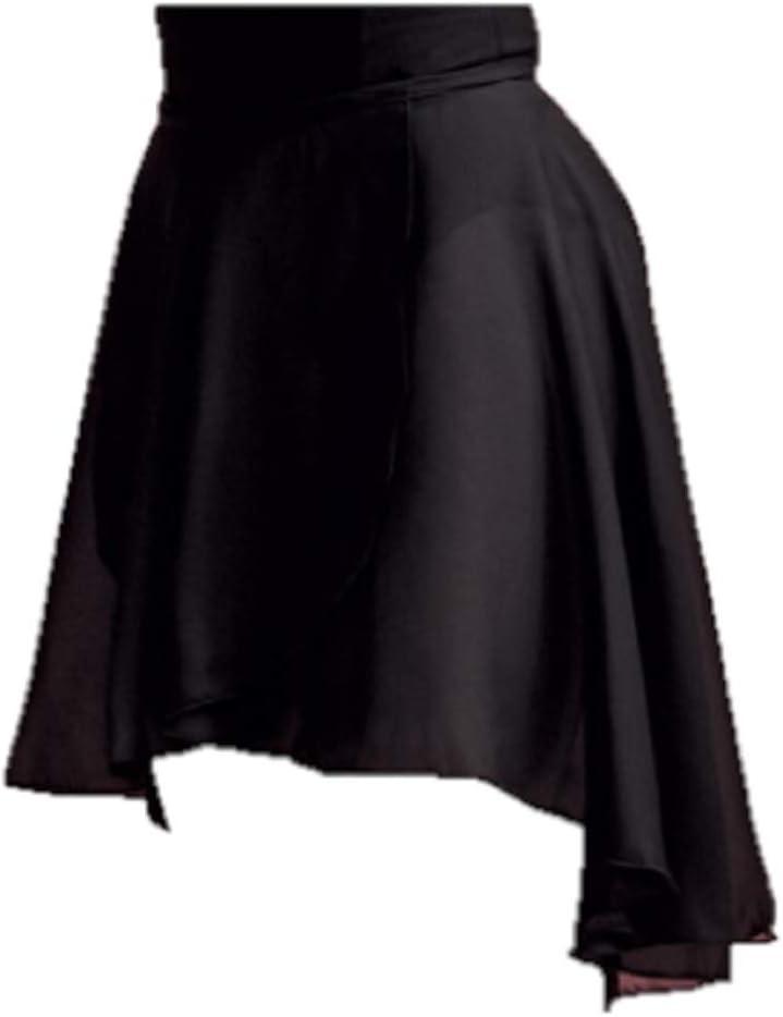 Capezio - Falda de ballet, falda cruzada 260, 2 colores para ...