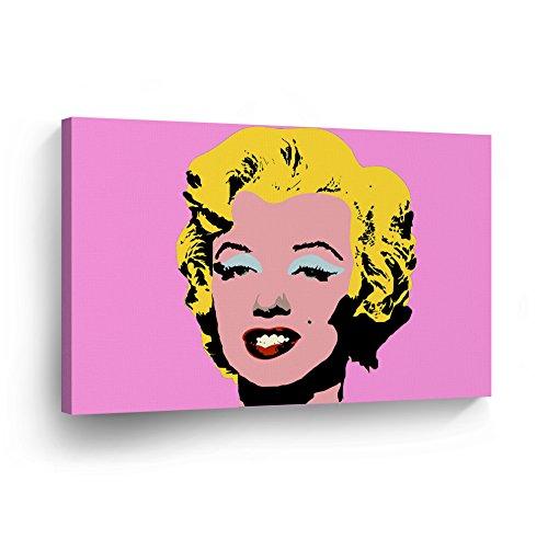 Marilyn Monroe Pop Art Pink Canvas Print Decorative Art Mode