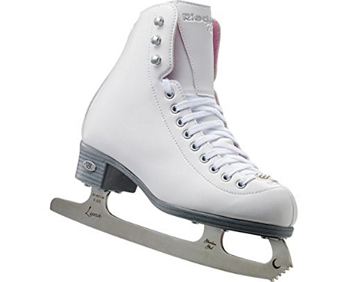 Riedell Pearl Ladies Figure Skates with Eclipse Luna