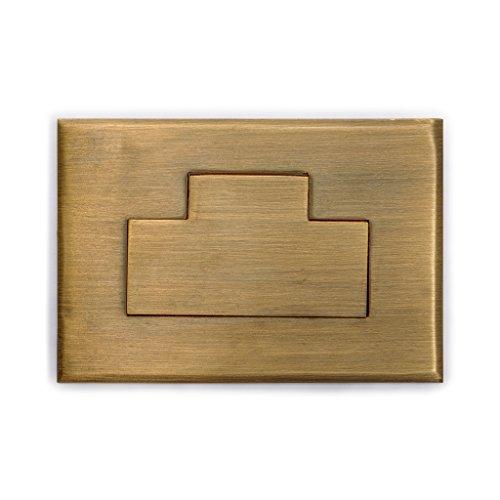 CBH Inlay Brass Box Drawer Handle Hardware Pulls 3