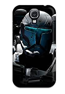 For Galaxy S4 Premium Tpu YY-ONE Star Wars Commander Protective Case